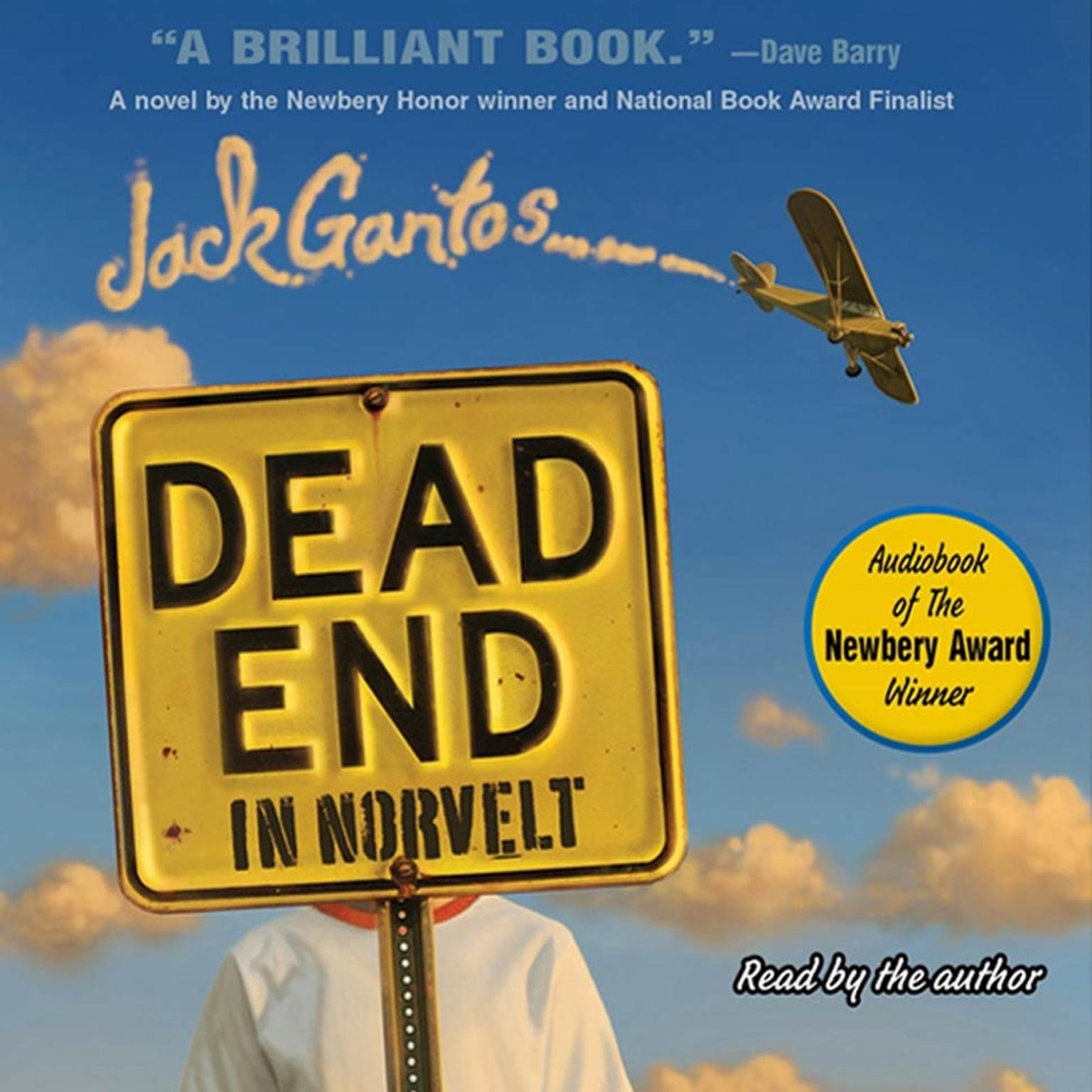 Printable Dead End in Norvelt Audiobook Cover Art