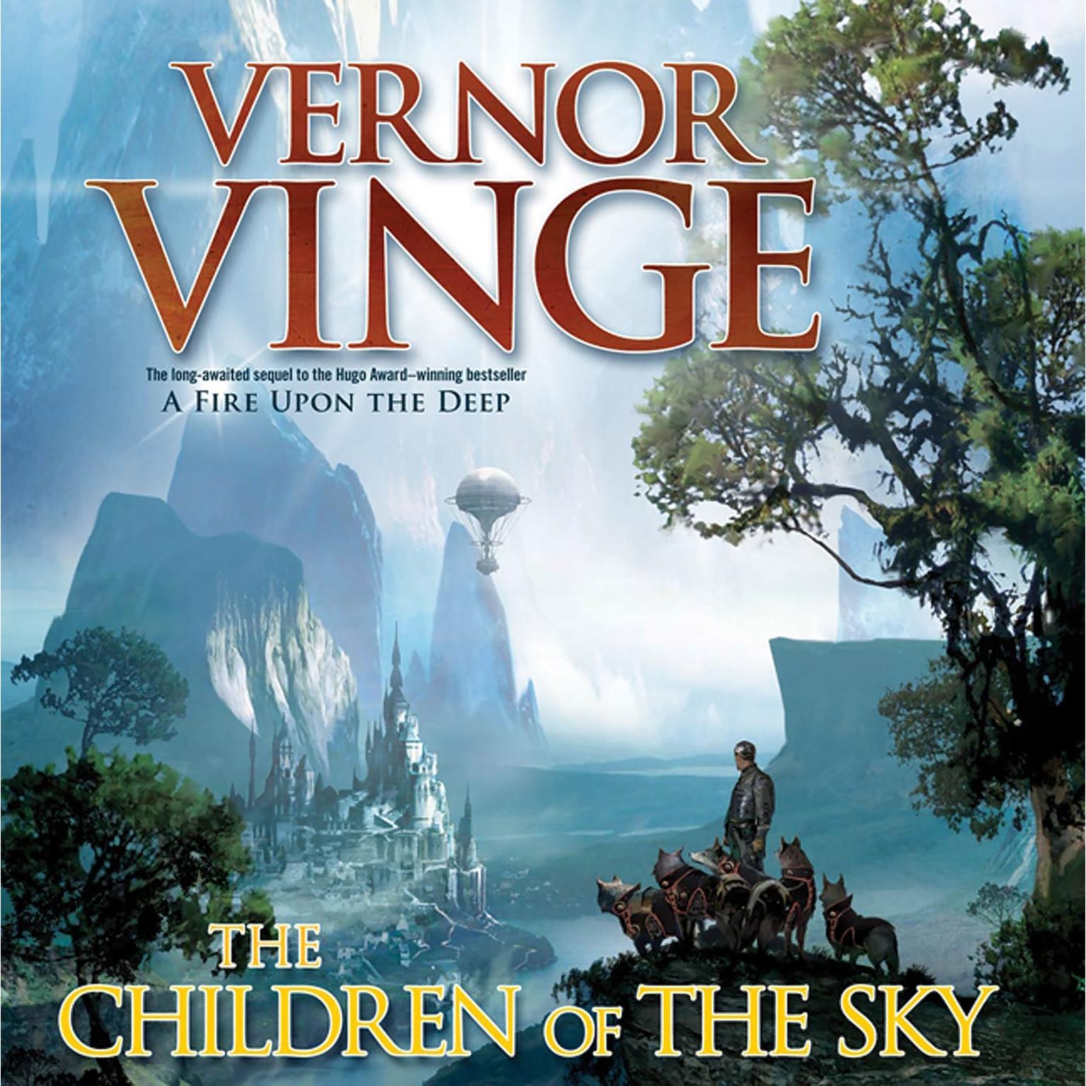 Printable The Children of the Sky Audiobook Cover Art