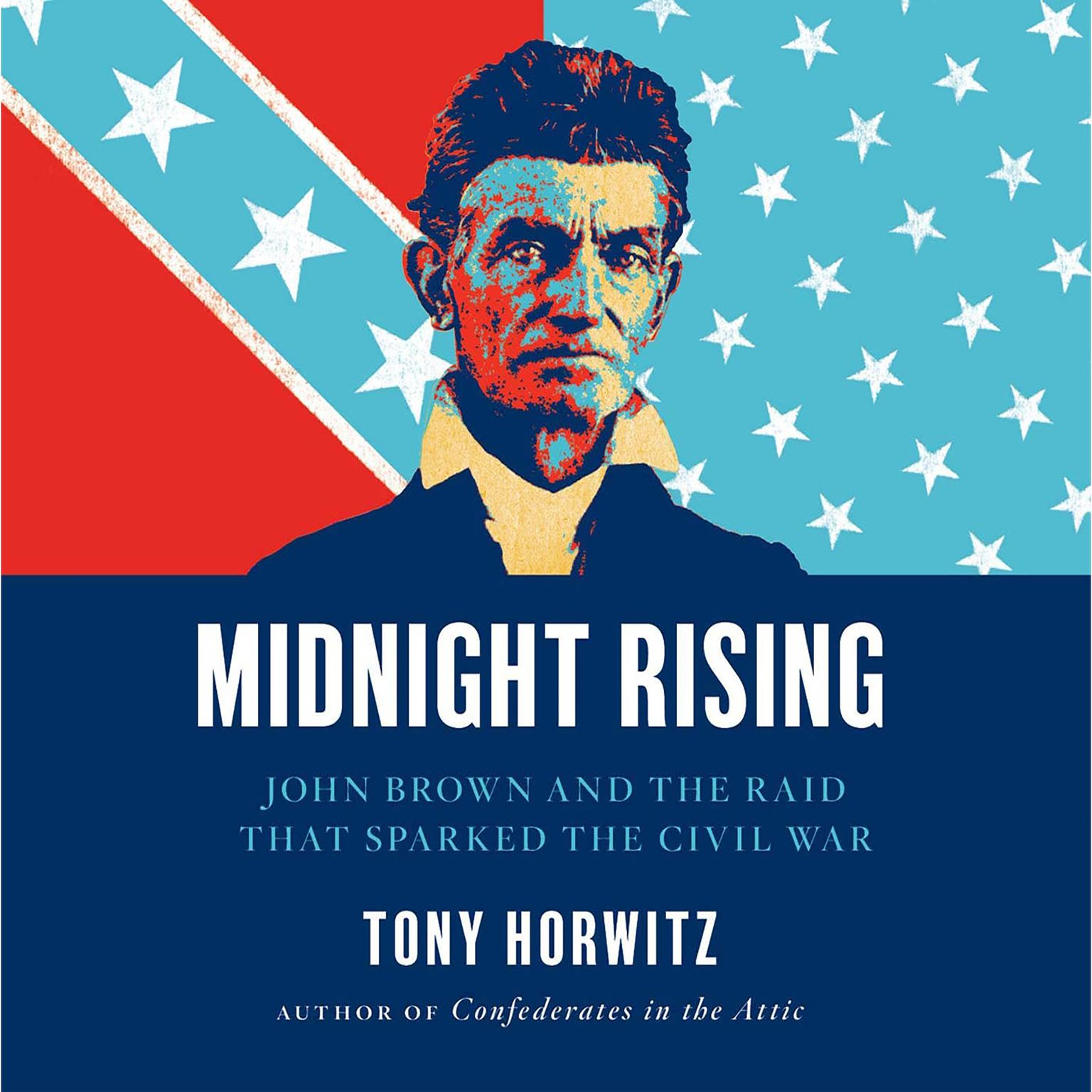 Printable Midnight Rising: John Brown and the Raid That Sparked the Civil War Audiobook Cover Art