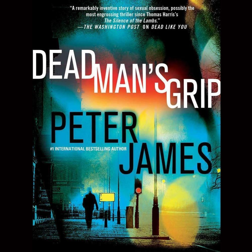 Printable Dead Man's Grip Audiobook Cover Art