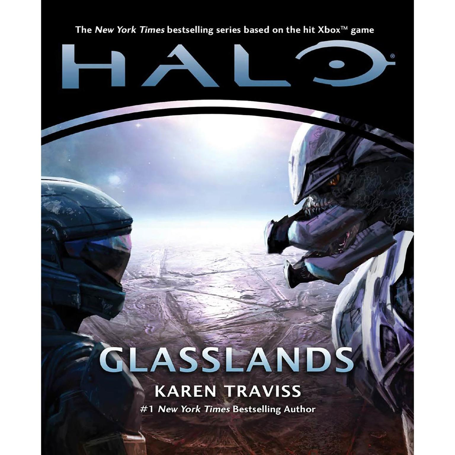 Printable Halo: Glasslands Audiobook Cover Art