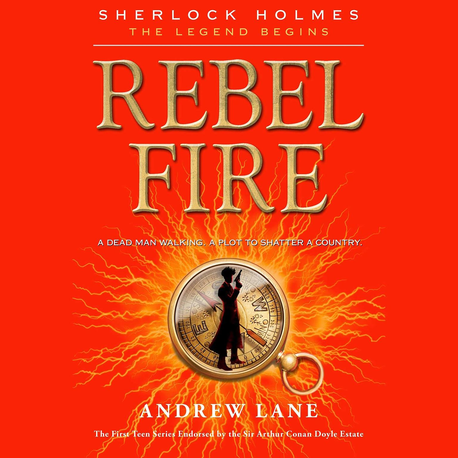 Printable Rebel Fire Audiobook Cover Art