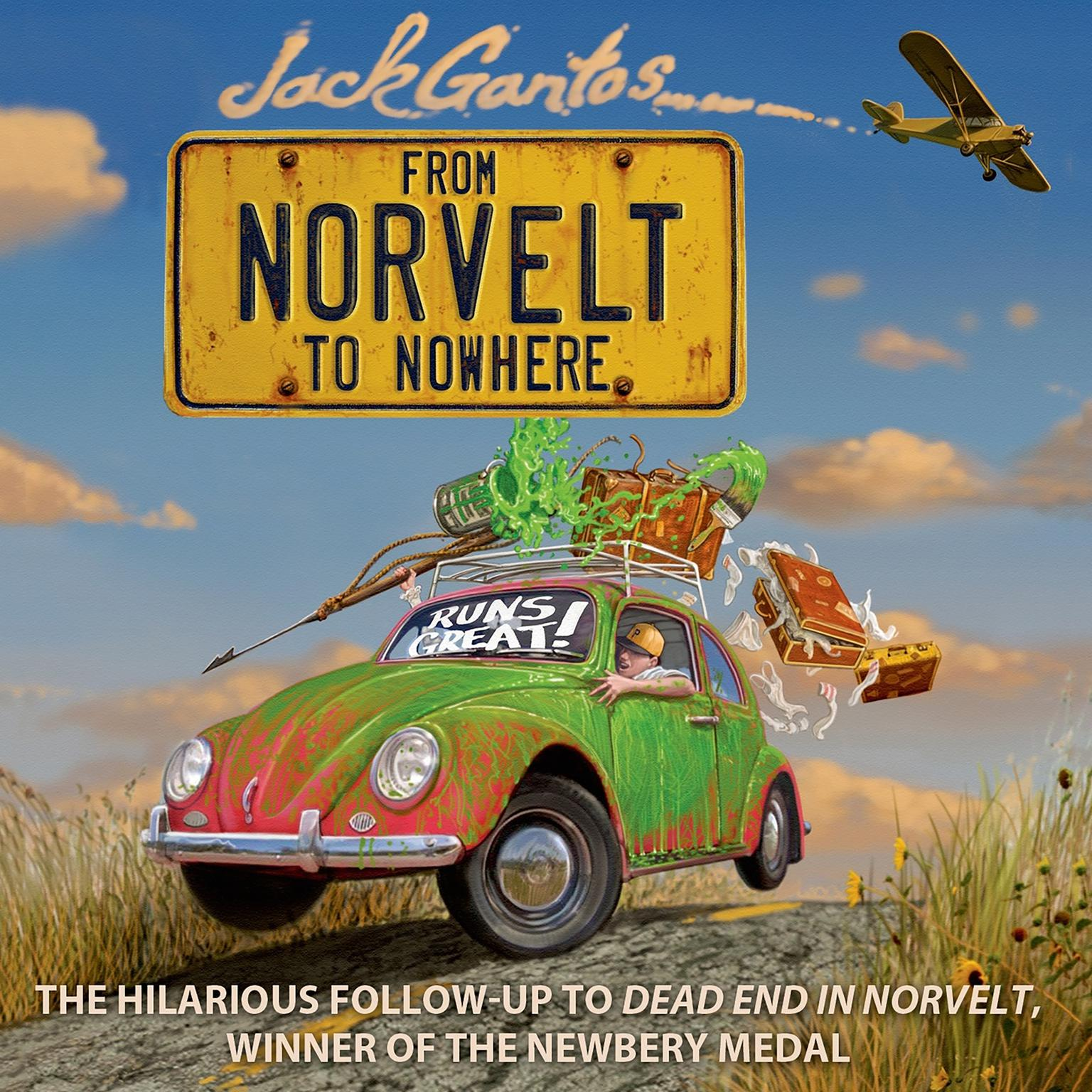 Printable From Norvelt to Nowhere Audiobook Cover Art