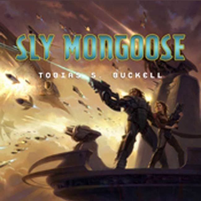 Printable Sly Mongoose Audiobook Cover Art