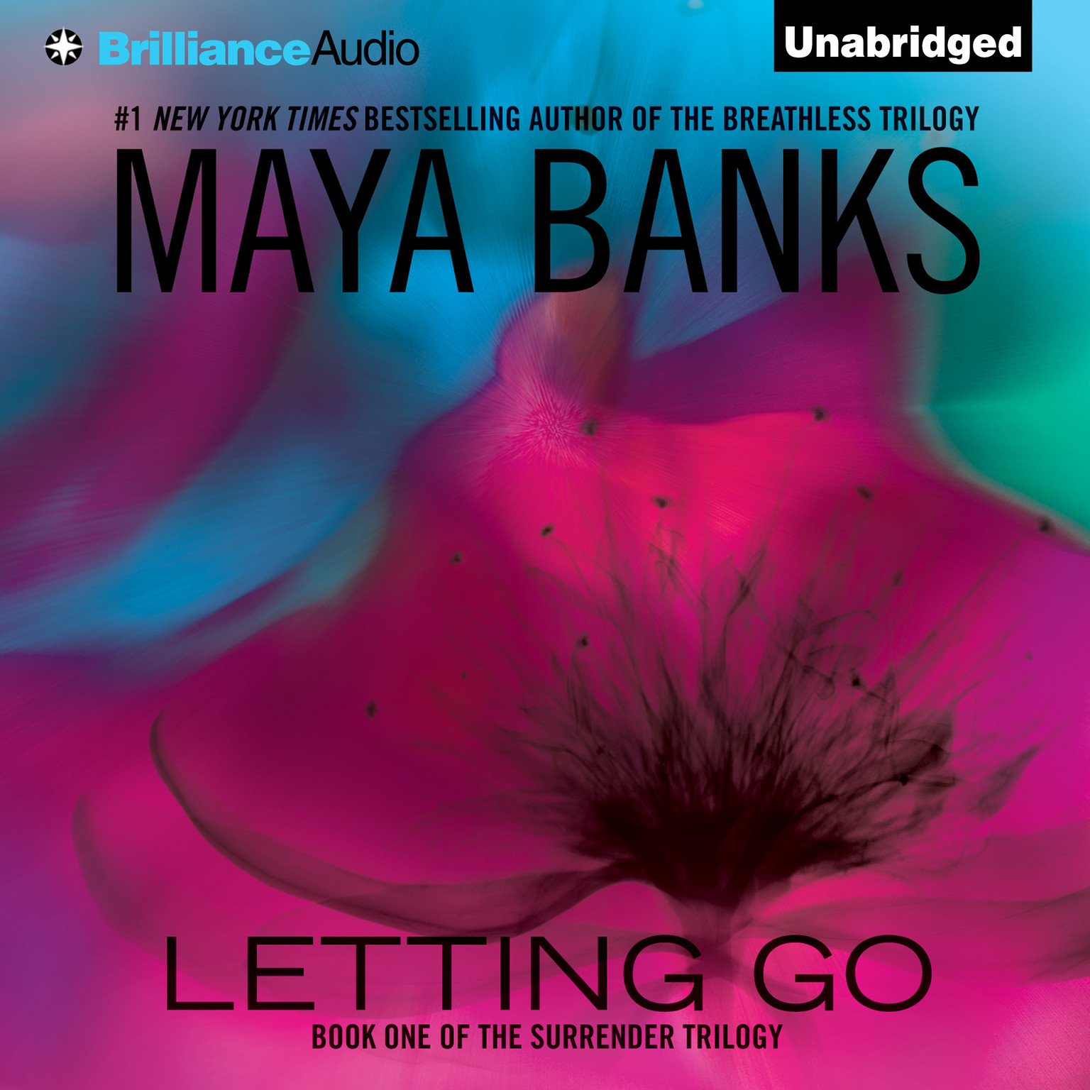 Printable Letting Go Audiobook Cover Art