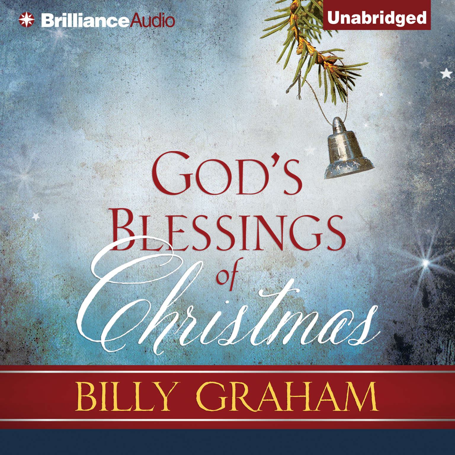 Printable God's Blessings of Christmas Audiobook Cover Art