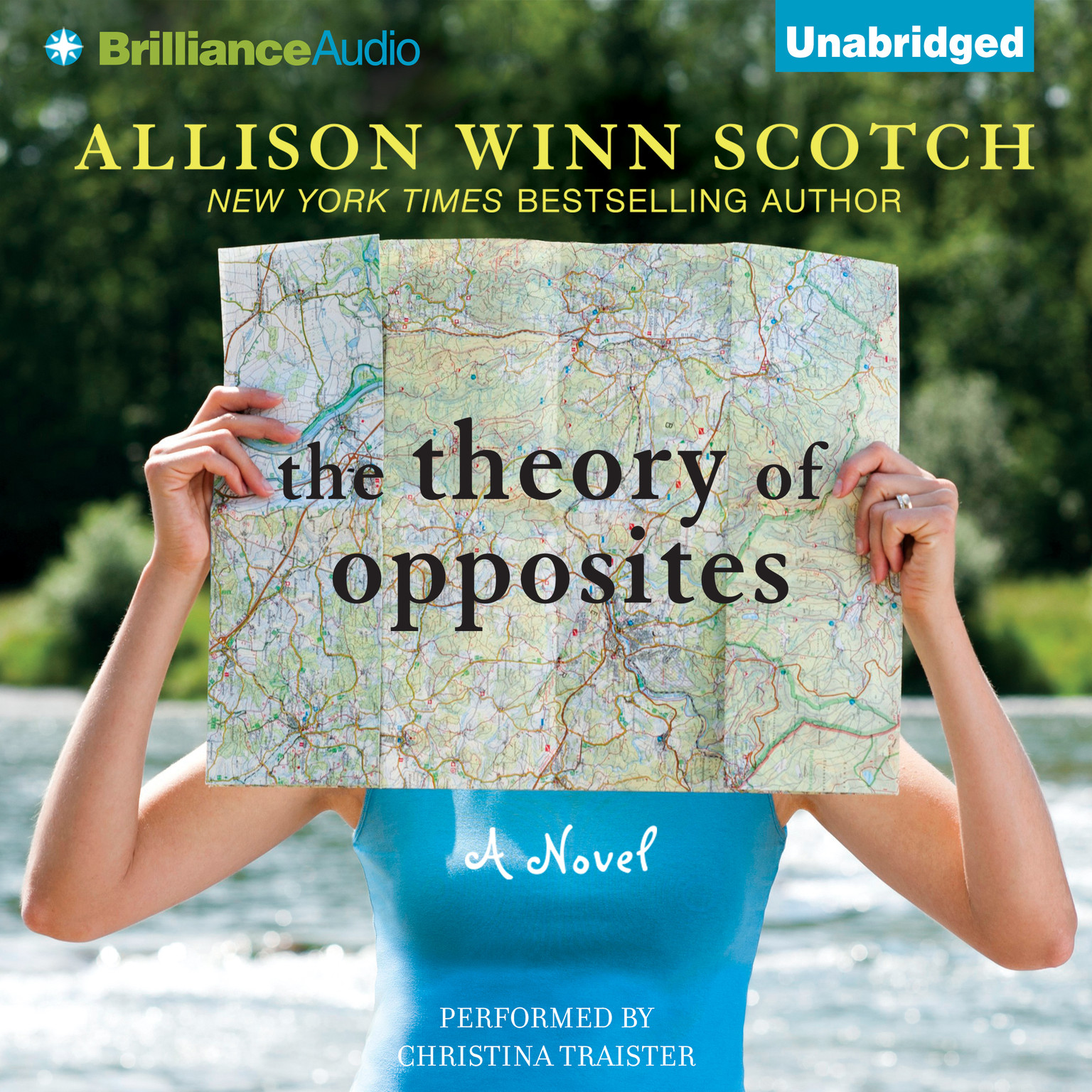 Printable The Theory of Opposites: A Novel Audiobook Cover Art