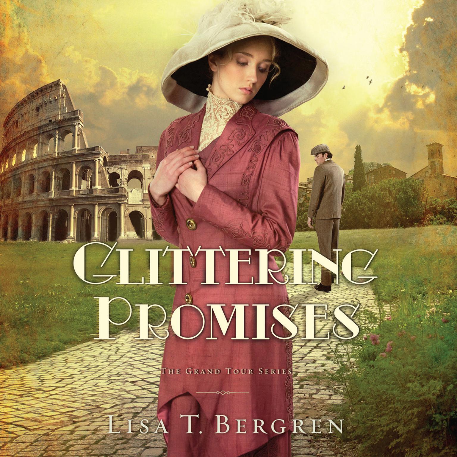 Printable Glittering Promises: A Novel Audiobook Cover Art