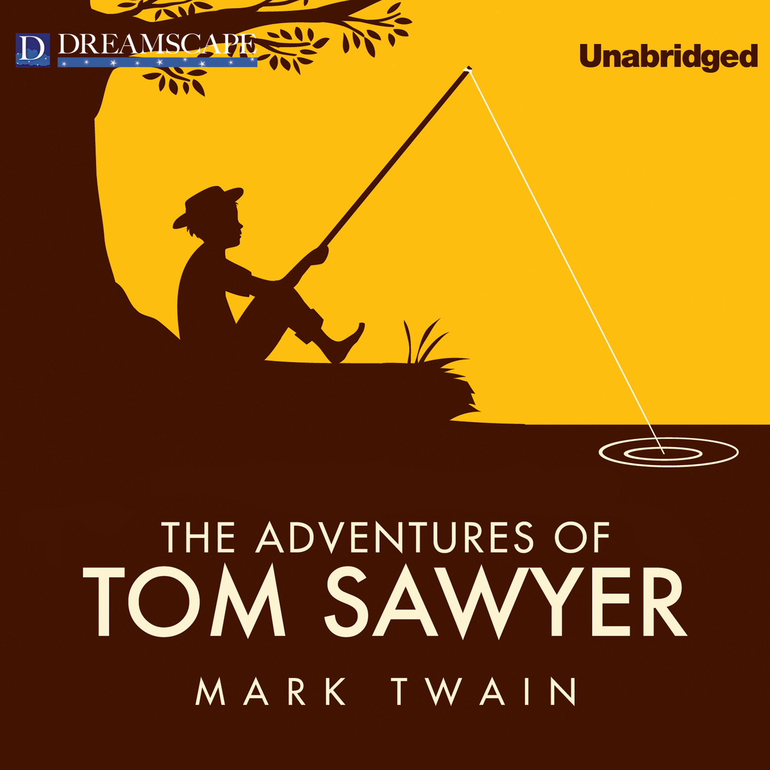 Printable The Adventures of Tom Sawyer Audiobook Cover Art