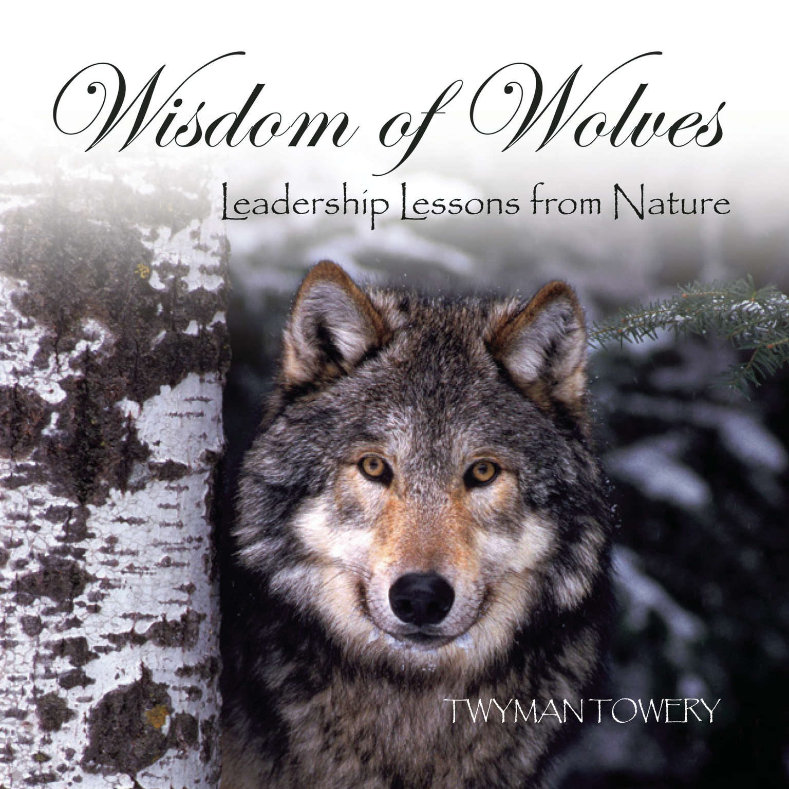 Printable Wisdom of Wolves: Leadership Lessons from Nature Audiobook Cover Art