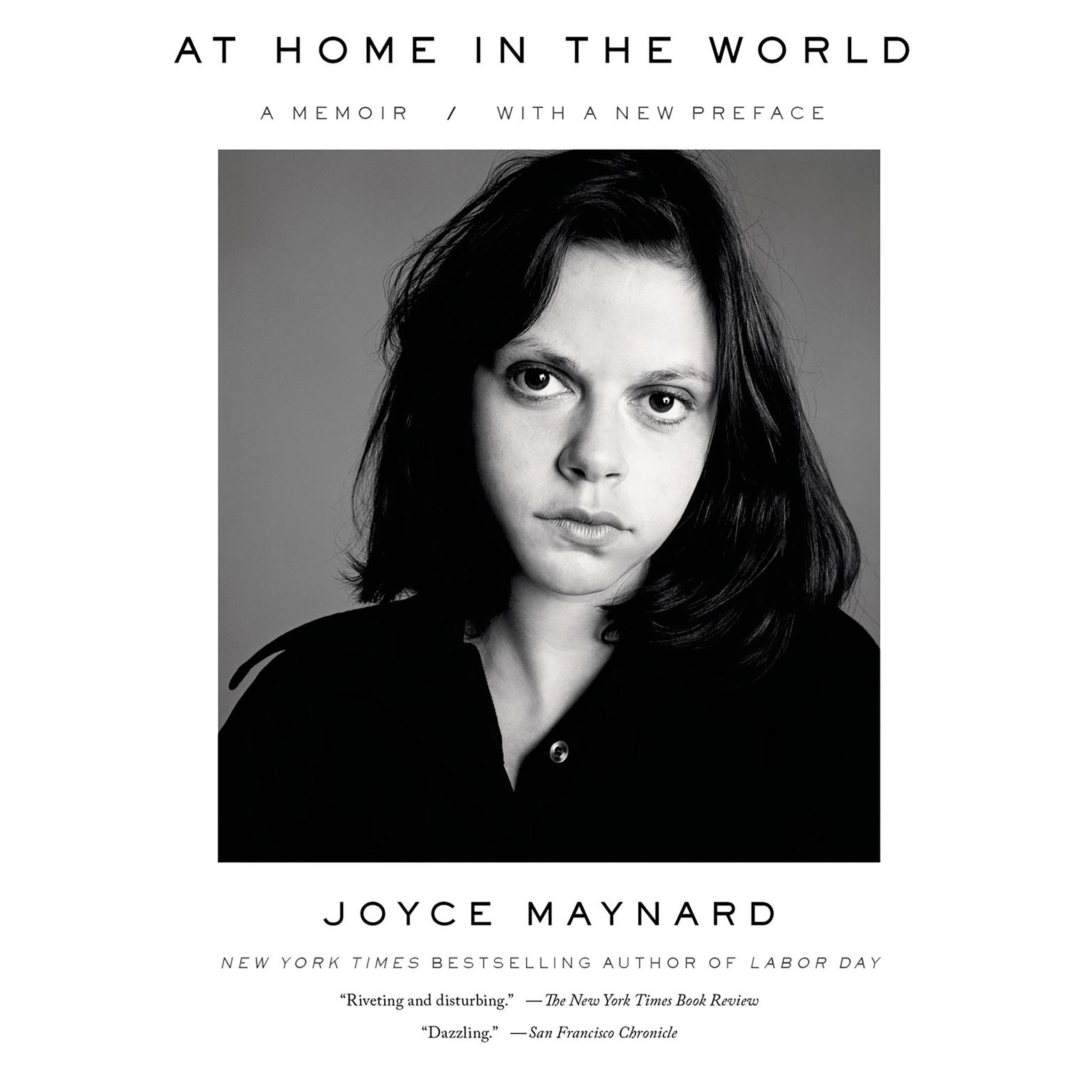 Printable At Home in the World: A Memoir Audiobook Cover Art