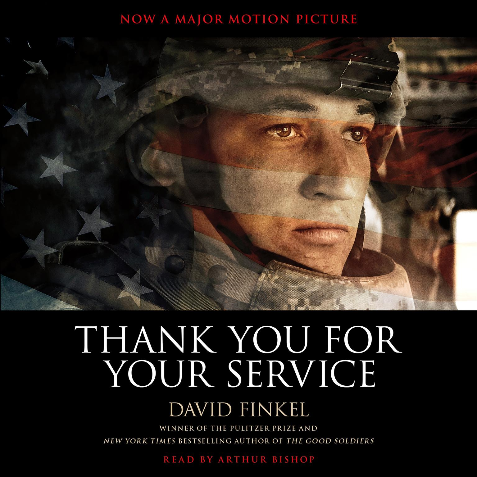 Printable Thank You for Your Service Audiobook Cover Art