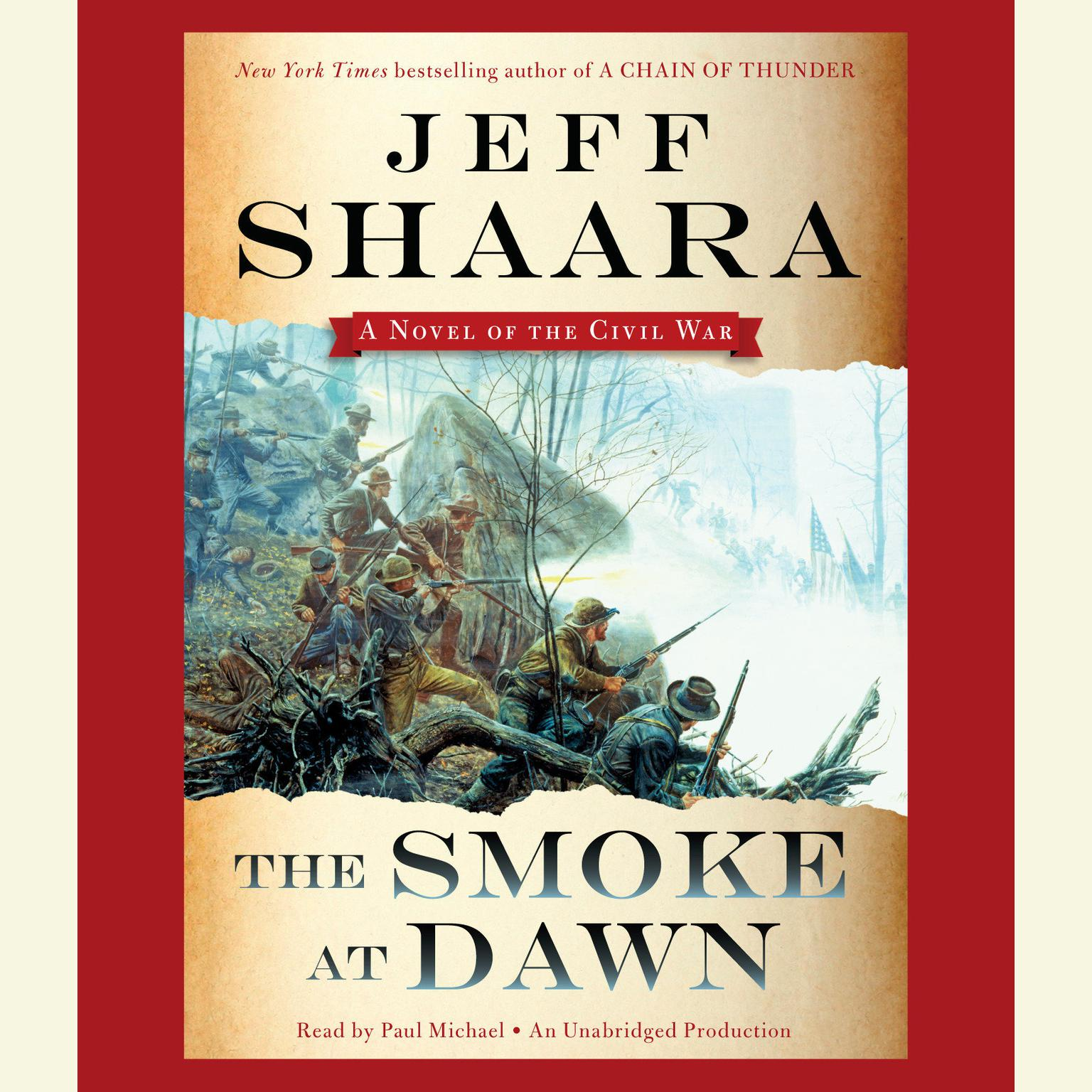 Printable The Smoke at Dawn: A Novel of the Civil War Audiobook Cover Art