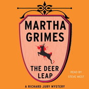 The Deer Leap Audiobook, by Martha Grimes