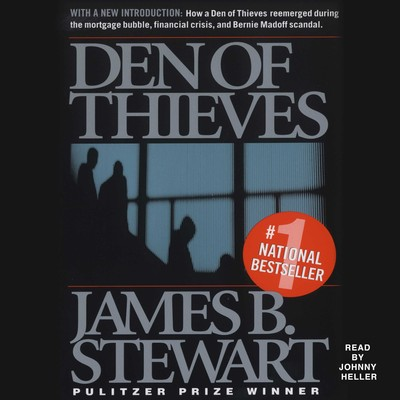 Den of Thieves Audiobook, by James B. Stewart