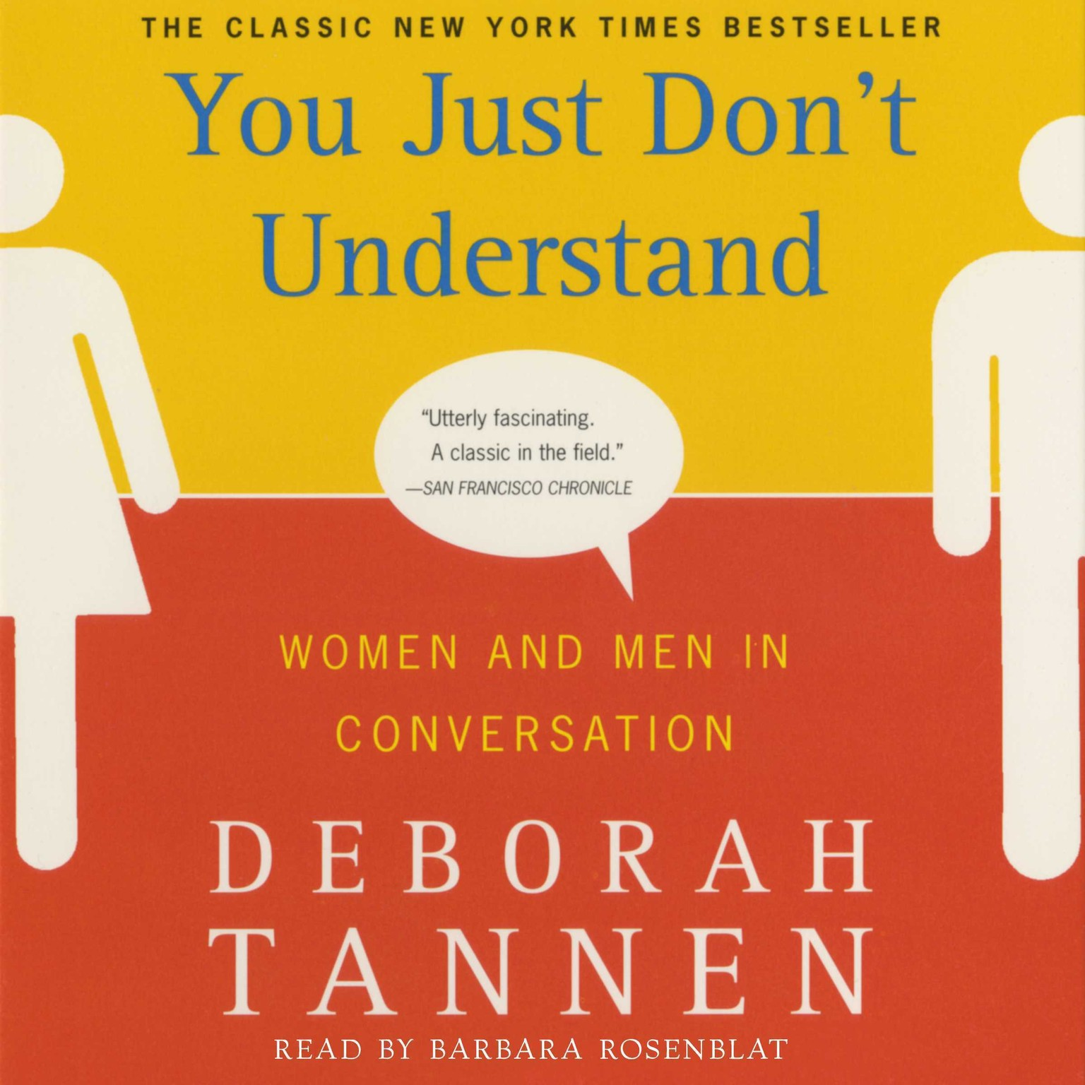 Printable You Just Don't Understand Audiobook Cover Art