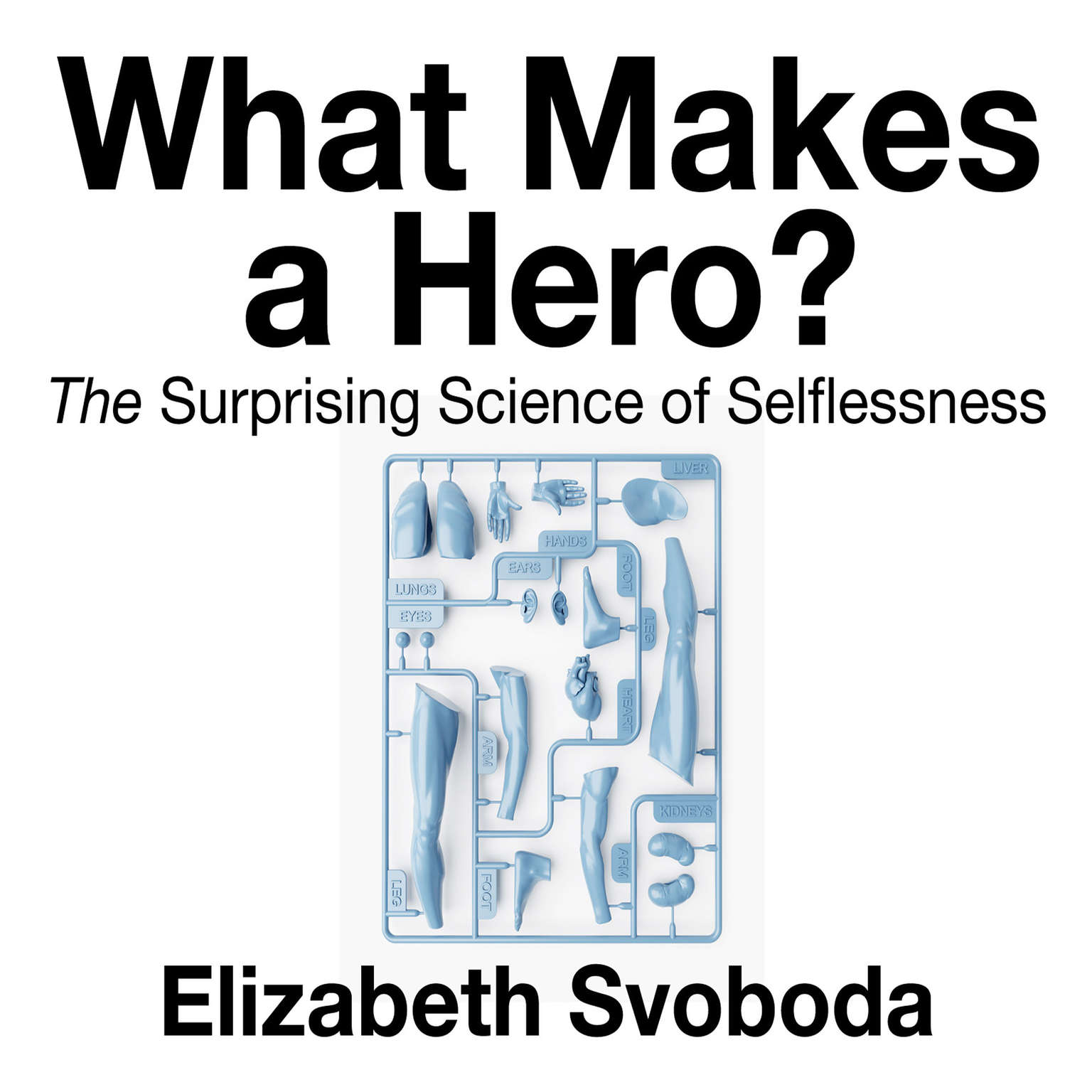 Printable What Makes a Hero: The Suprising Science of Selflessness Audiobook Cover Art