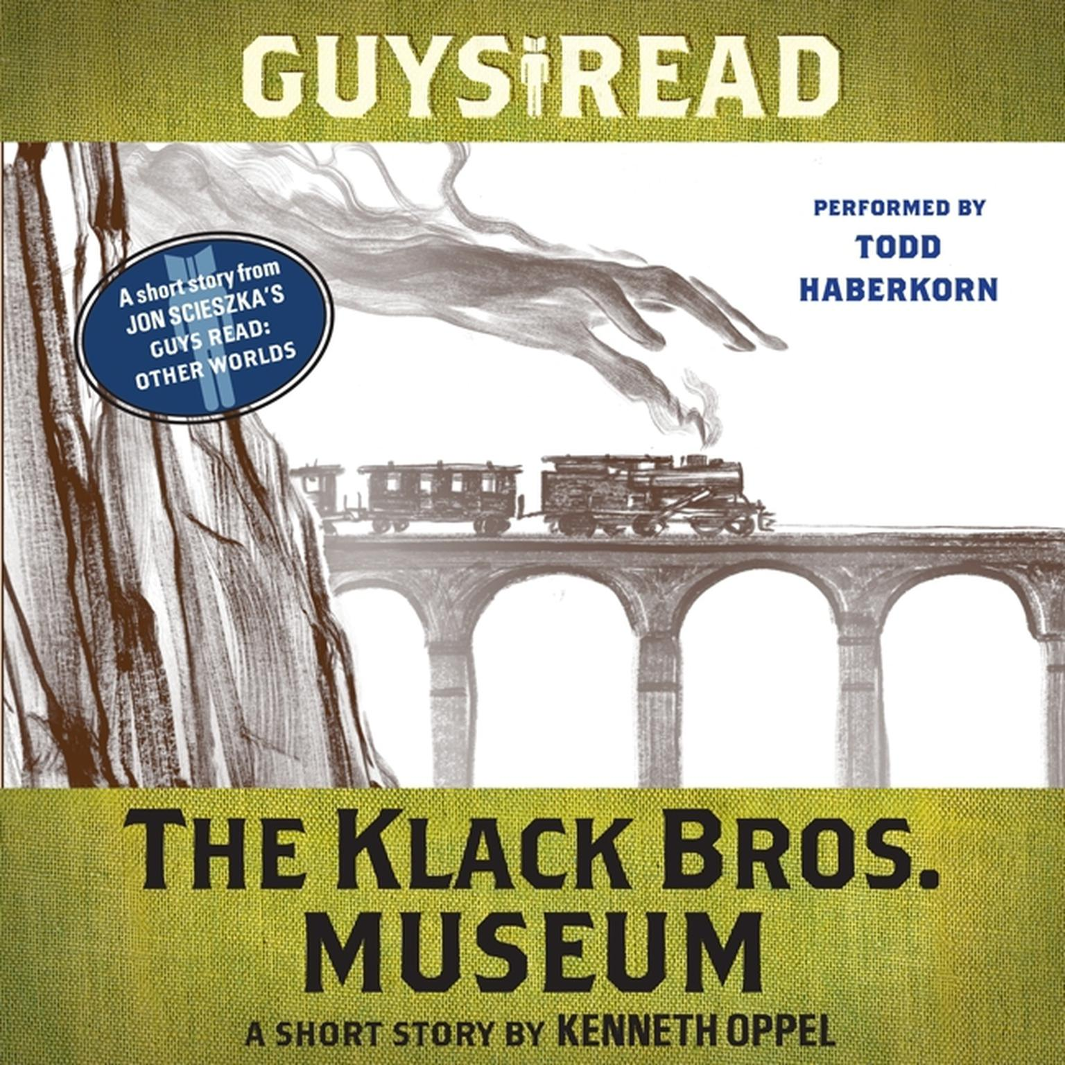Printable Guys Read: The Klack Bros. Museum: A Short Story from Guys Read: Other Worlds Audiobook Cover Art
