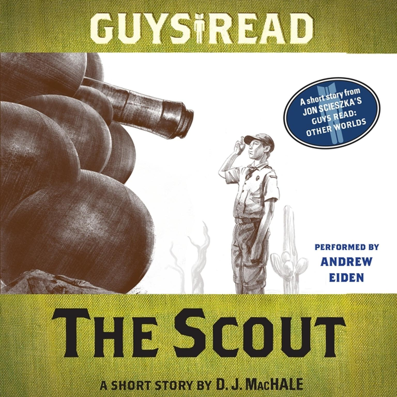 Printable Guys Read: The Scout: A Short Story from Guys Read: Other Worlds Audiobook Cover Art