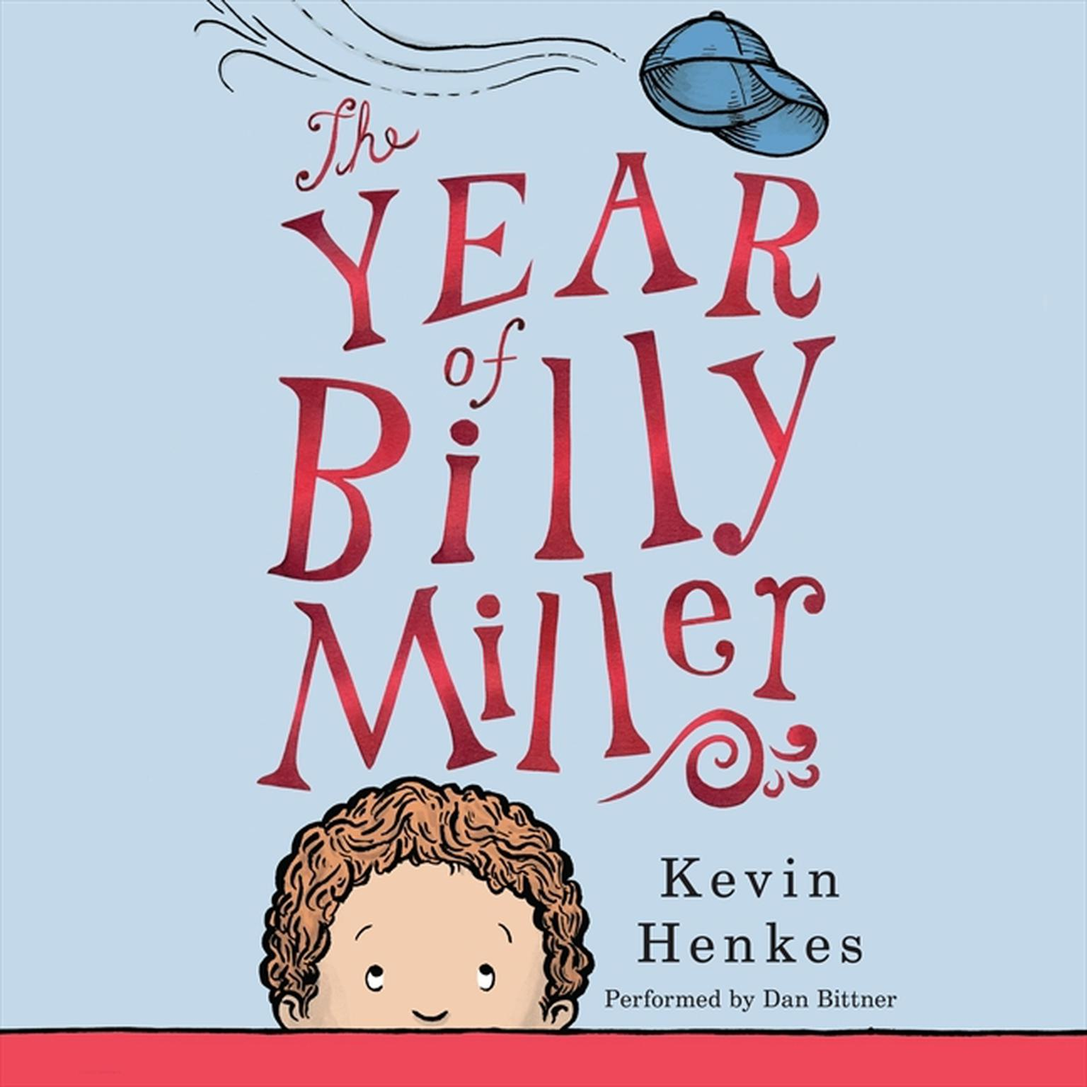 Printable The Year of Billy Miller Audiobook Cover Art
