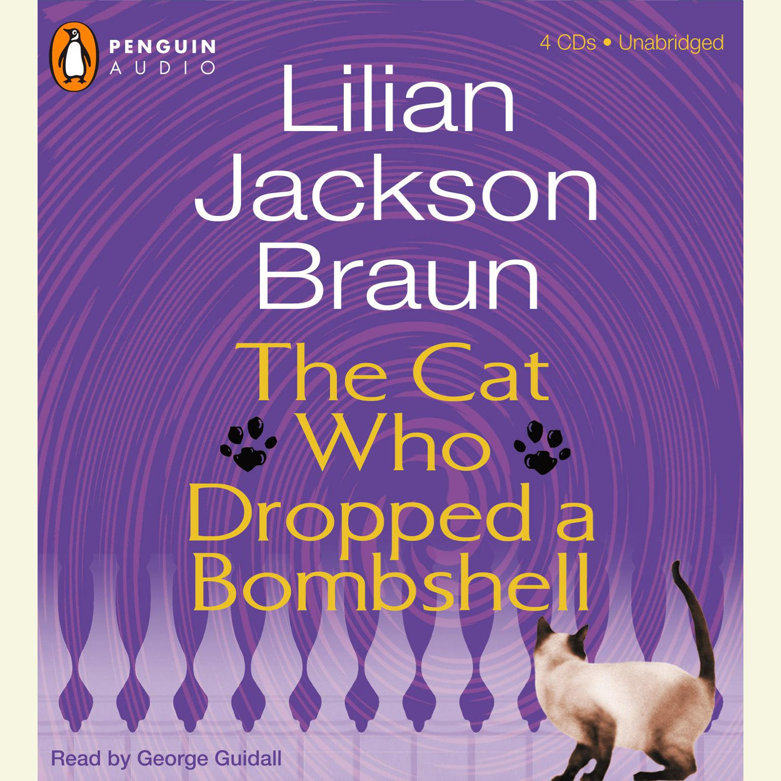 Printable The Cat Who Dropped a Bombshell Audiobook Cover Art
