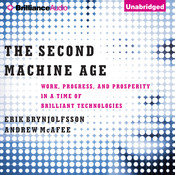 The Second Machine Age: Work, Progress, and Prosperity in a Time of Brilliant Technologies Audiobook, by Erik Brynjolfsson, Andrew McAfee