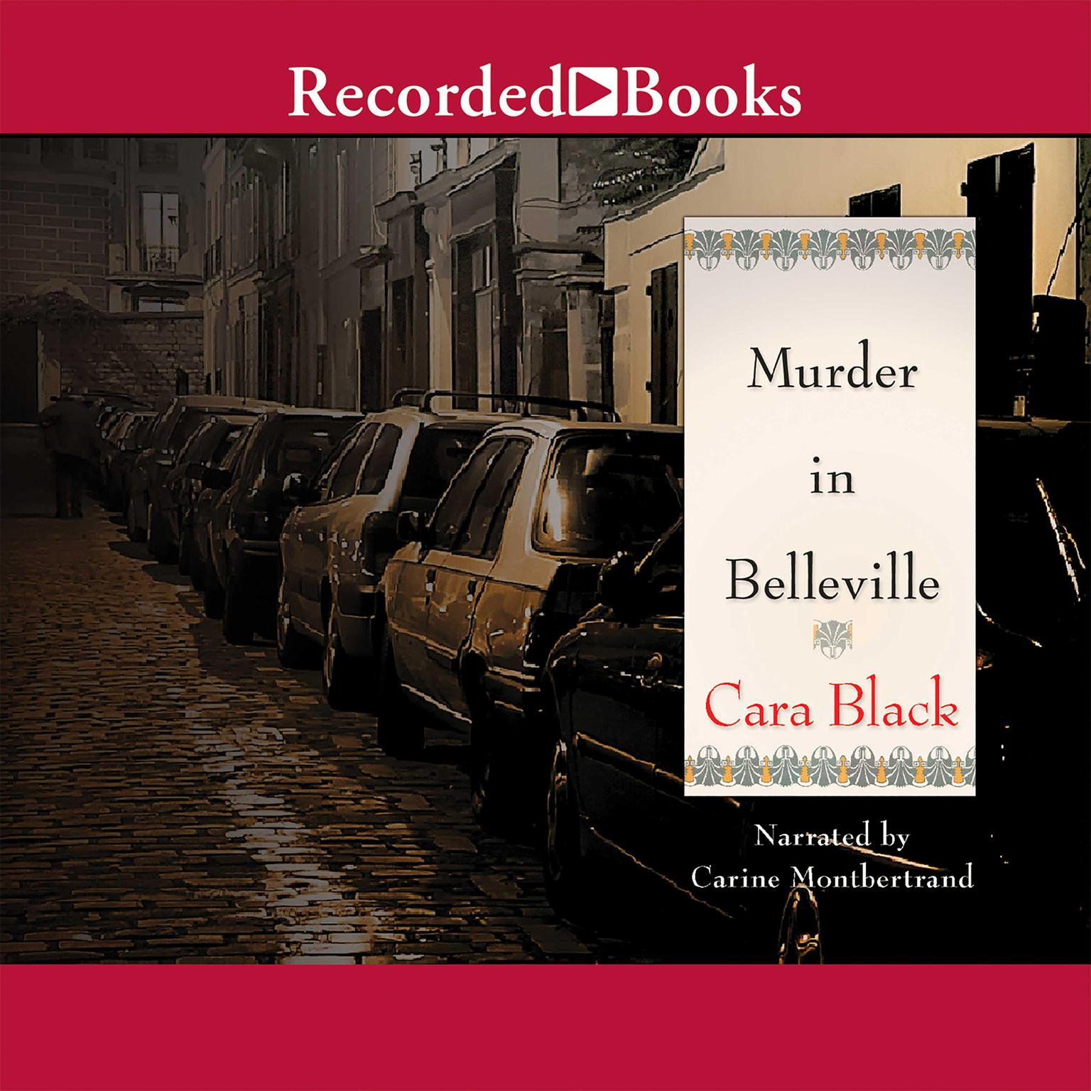 Printable Murder in Belleville Audiobook Cover Art