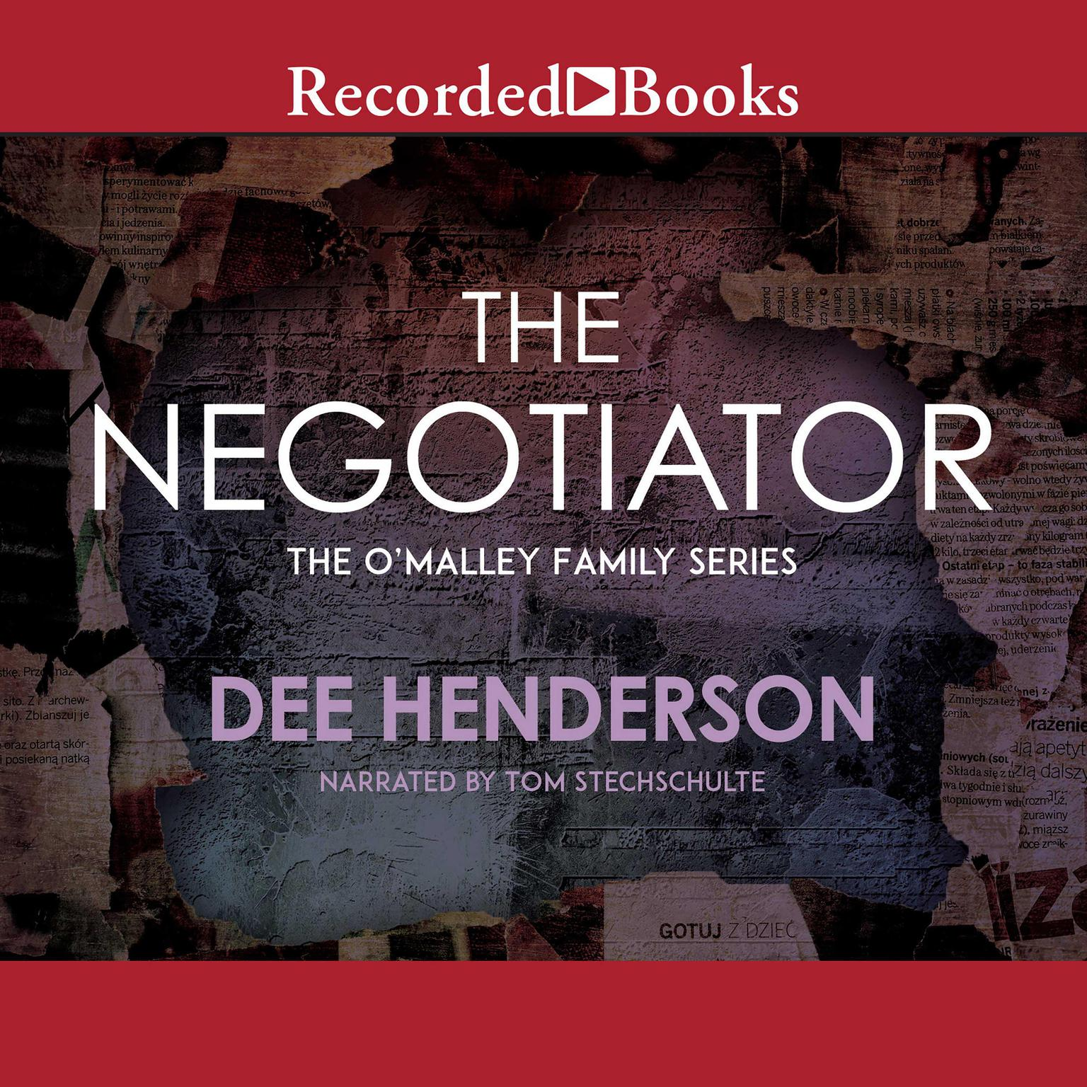 Printable The Negotiator Audiobook Cover Art