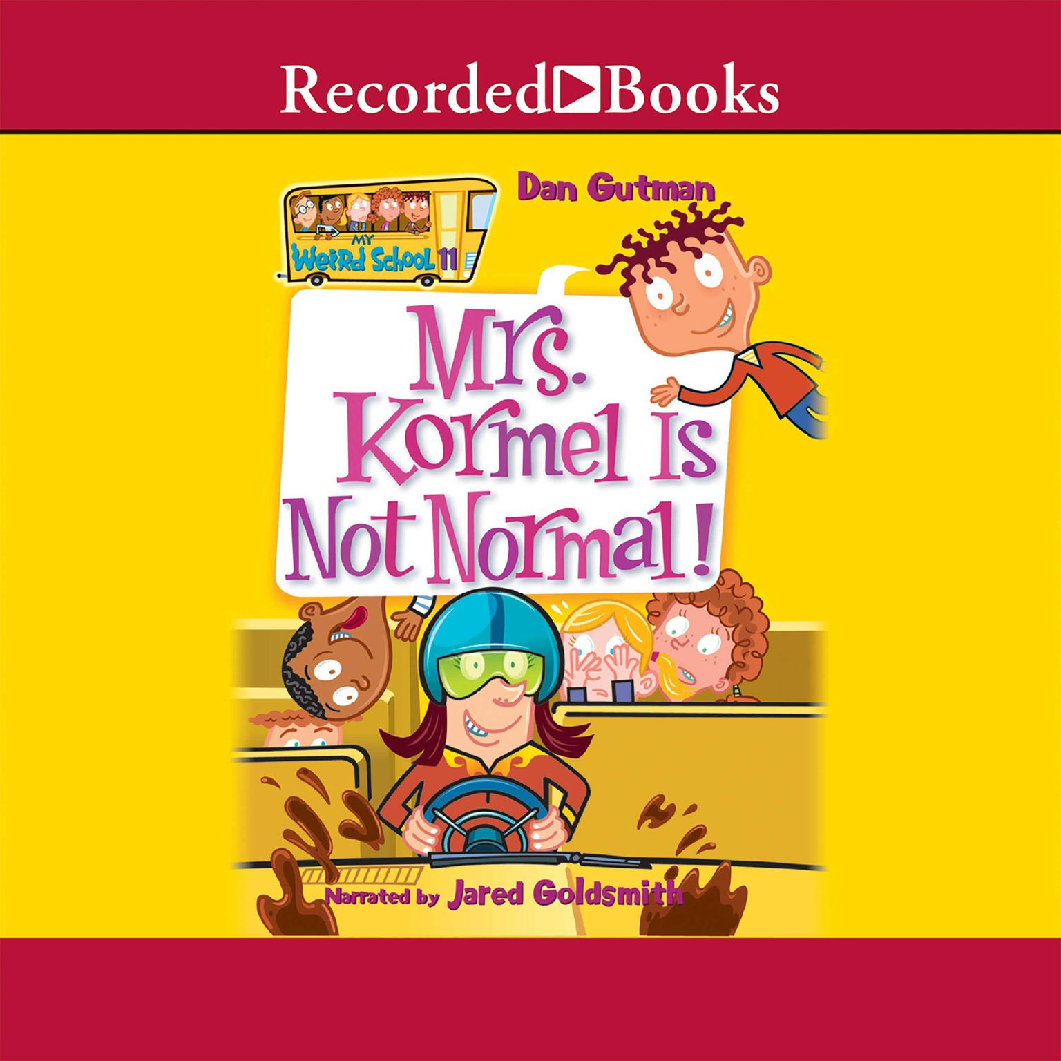 Printable Mrs. Kormel Is Not Normal! Audiobook Cover Art