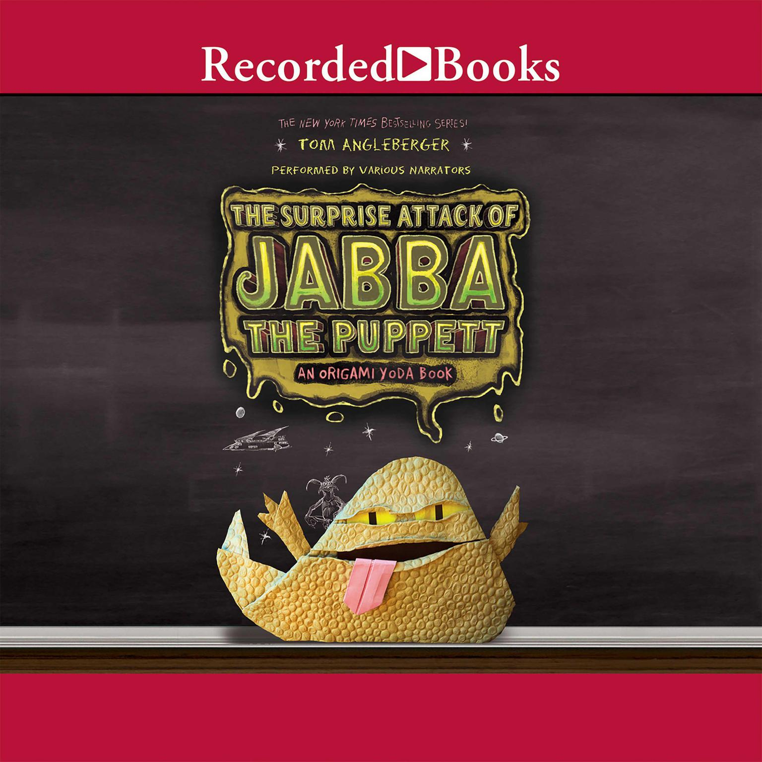Printable The Surprise Attack of Jabba the Puppett: An Origami Yoda Book Audiobook Cover Art