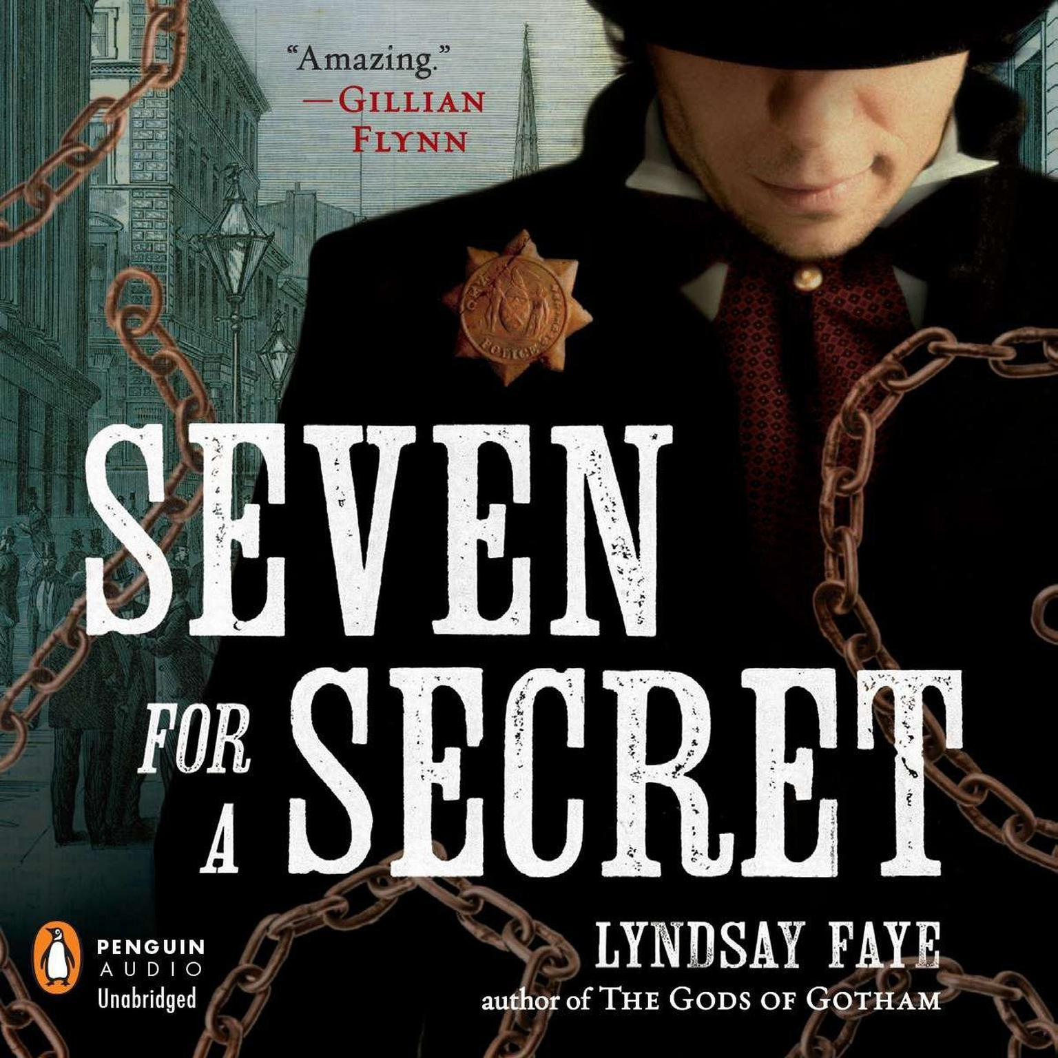 Printable Seven for a Secret Audiobook Cover Art