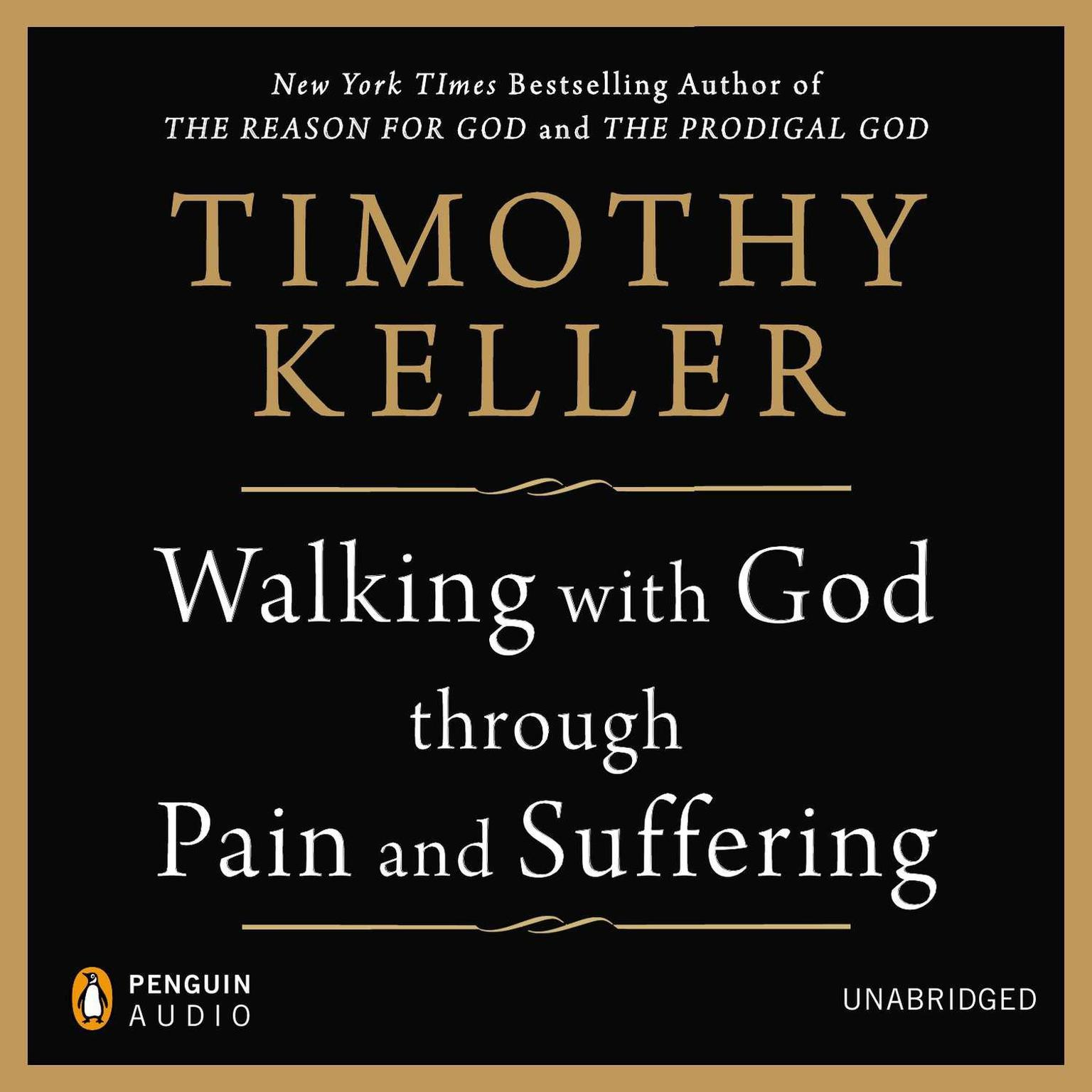 Printable Walking with God through Pain and Suffering Audiobook Cover Art