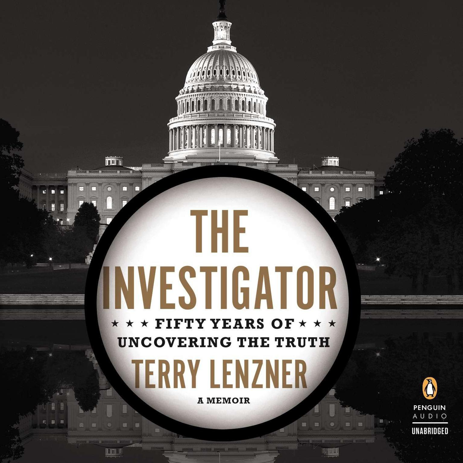 Printable The Investigator: Fifty Years of Uncovering the Truth Audiobook Cover Art