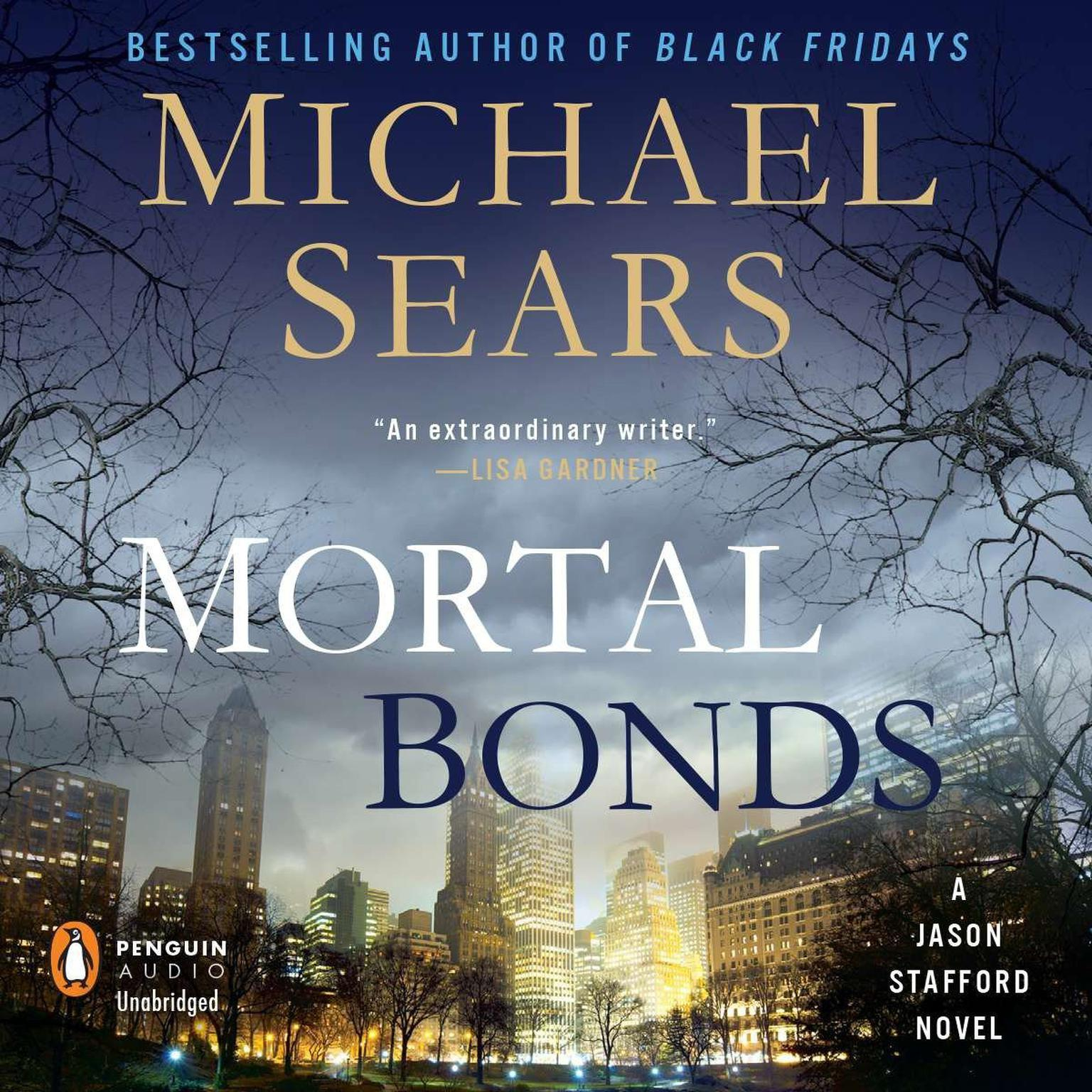 Printable Mortal Bonds Audiobook Cover Art