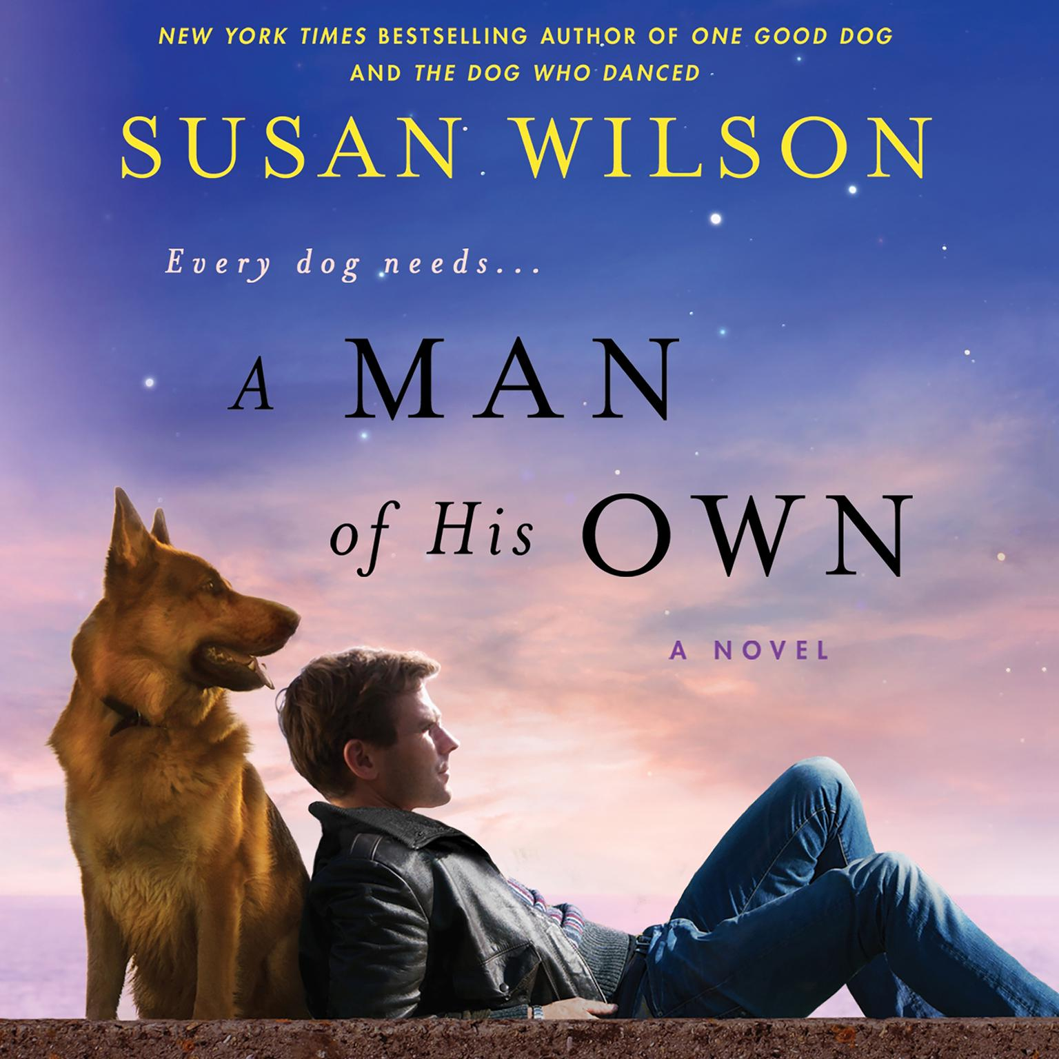 Printable A Man of His Own Audiobook Cover Art