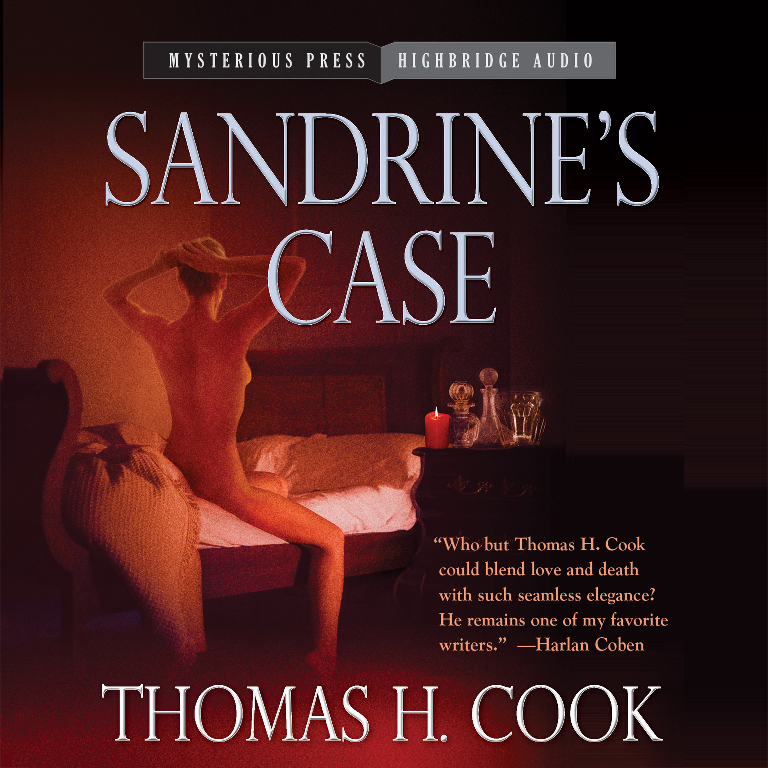 Printable Sandrine's Case Audiobook Cover Art