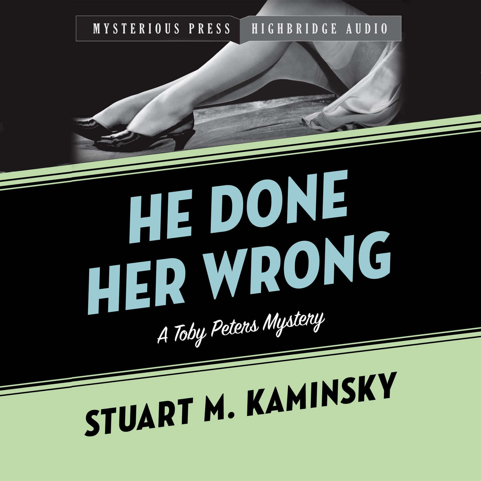 Printable He Done Her Wrong Audiobook Cover Art
