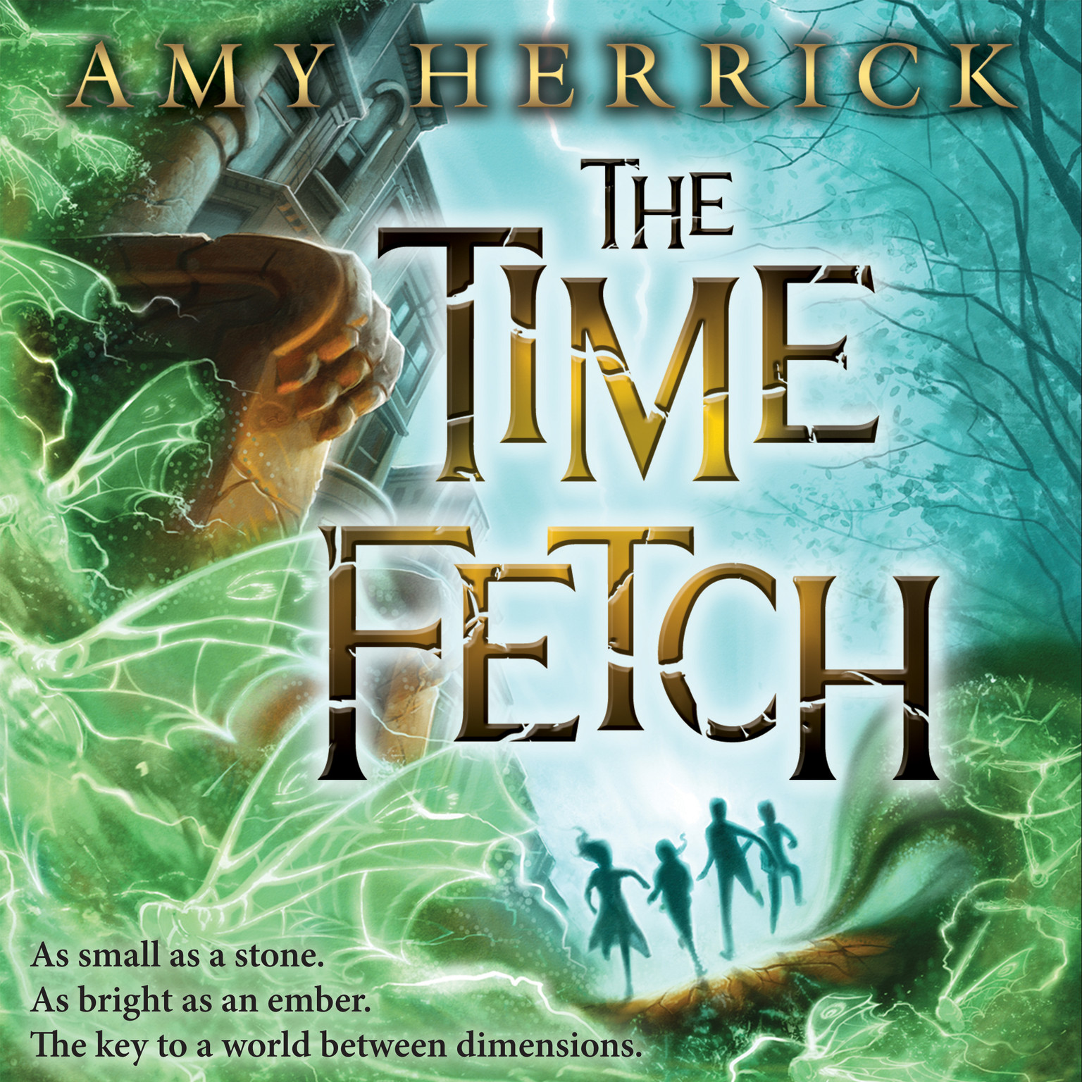 Printable The Time Fetch Audiobook Cover Art