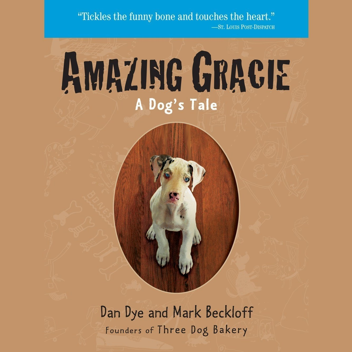 Printable Amazing Gracie: A Dog's Tale Audiobook Cover Art