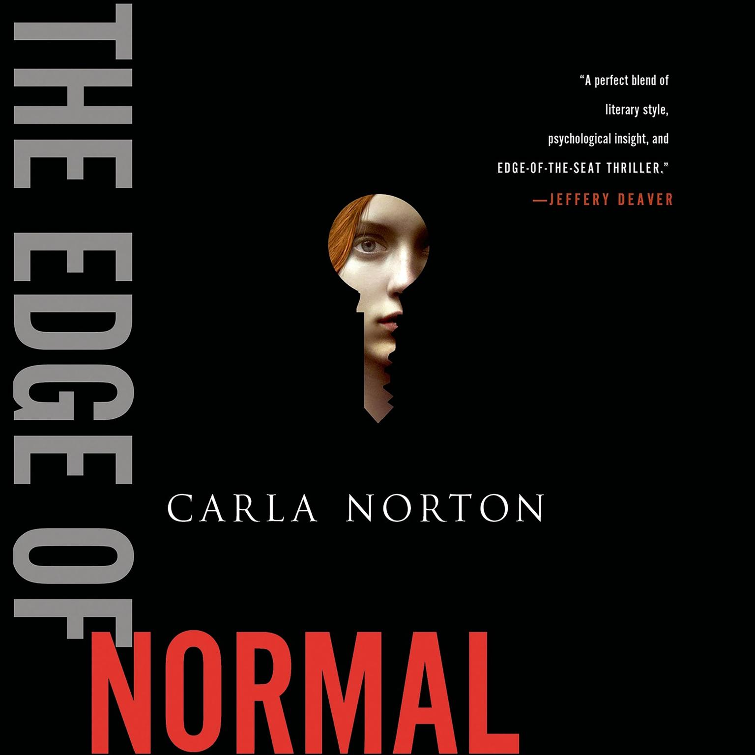 Printable The Edge of Normal: A Novel Audiobook Cover Art