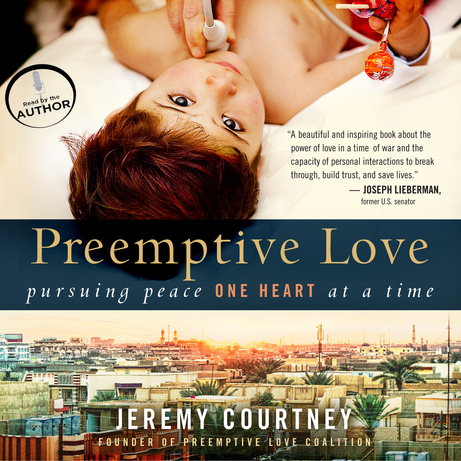 Printable Preemptive Love: Pursuing Peace One Heart at a Time Audiobook Cover Art