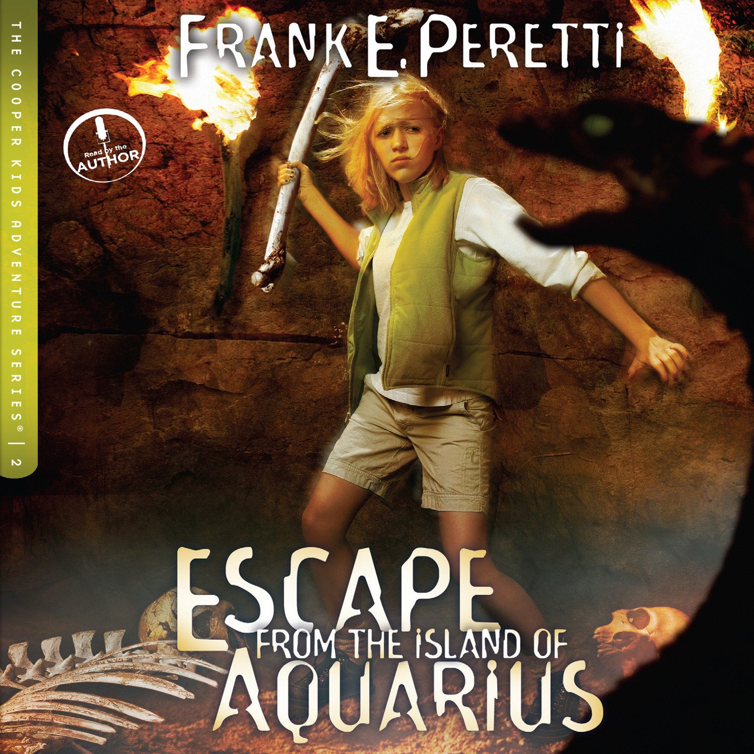 Printable Escape from the Island of Aquarius Audiobook Cover Art