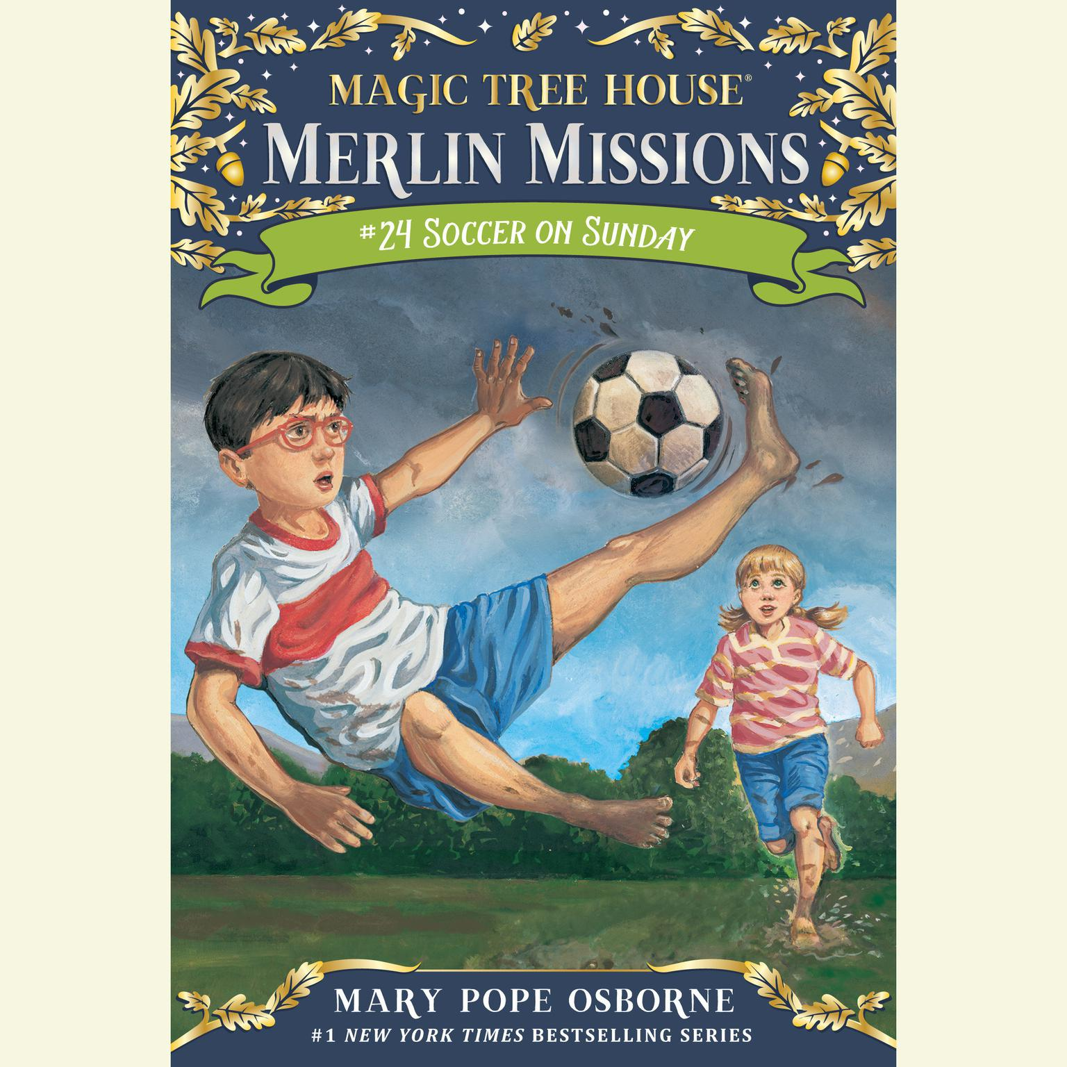 Printable Soccer on Sunday Audiobook Cover Art