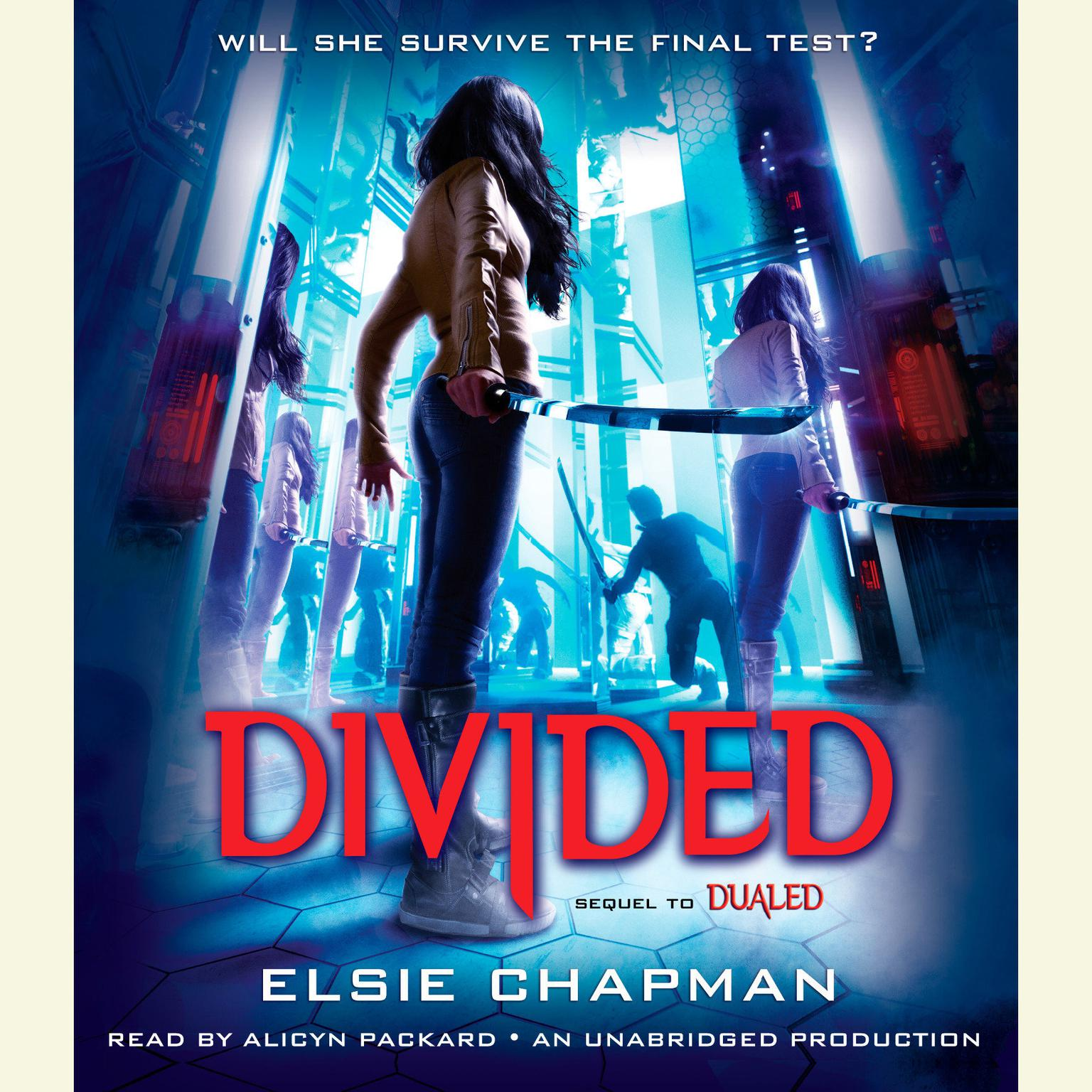 Printable Divided Audiobook Cover Art