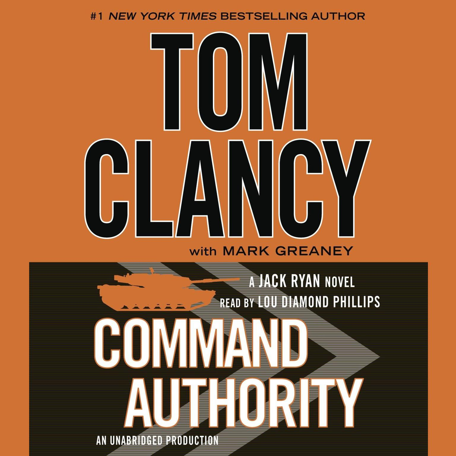 Printable Command Authority Audiobook Cover Art