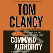 Command Authority Audiobook, by Tom Clancy