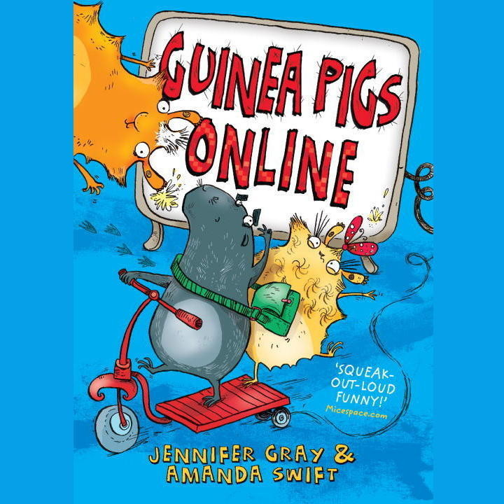 Printable Guinea Pigs Online Audiobook Cover Art