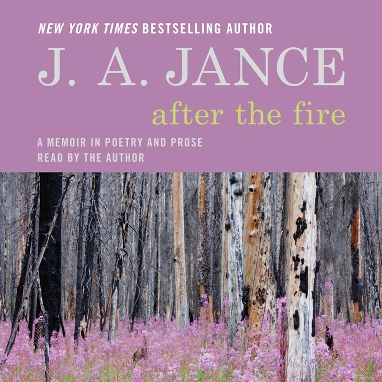 Printable After the Fire: A Memoir in Poetry and Prose Audiobook Cover Art
