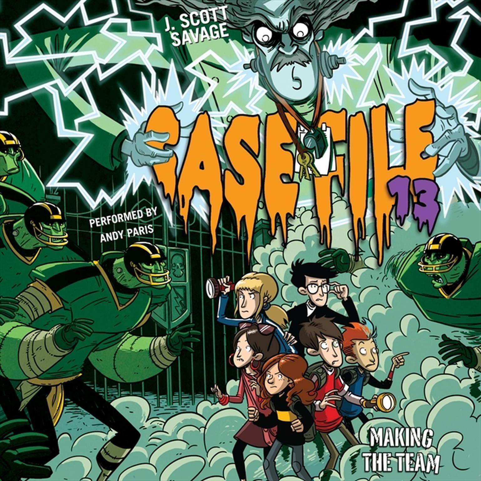 Printable Case File 13 #2: Making the Team Audiobook Cover Art