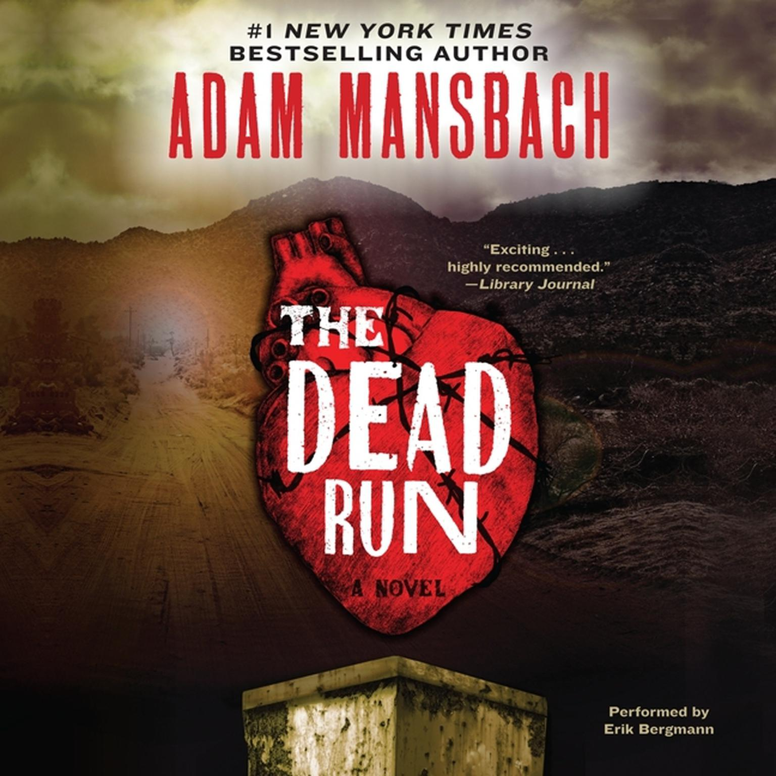 Printable The Dead Run Audiobook Cover Art